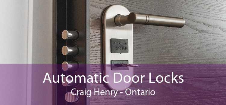 Automatic Door Locks Craig Henry - Ontario
