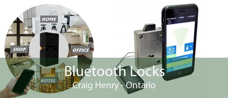 Bluetooth Locks Craig Henry - Ontario