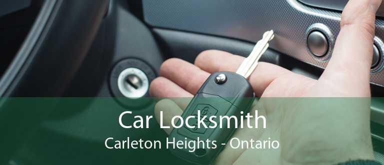 Car Locksmith Carleton Heights - Ontario
