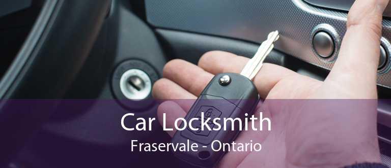 Car Locksmith Fraservale - Ontario