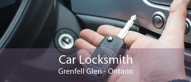 Car Locksmith Grenfell Glen - Ontario