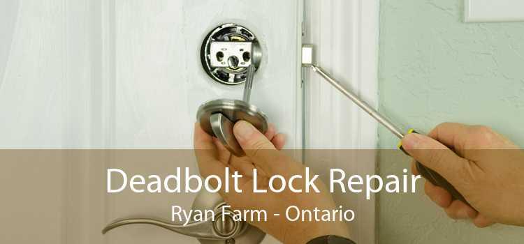 Deadbolt Lock Repair Ryan Farm - Ontario