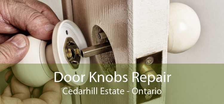 Door Knobs Repair Cedarhill Estate - Ontario