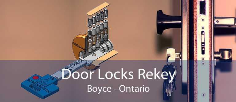 Door Locks Rekey Boyce - Ontario