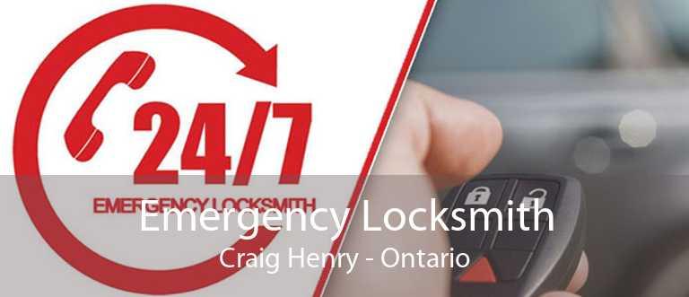 Emergency Locksmith Craig Henry - Ontario