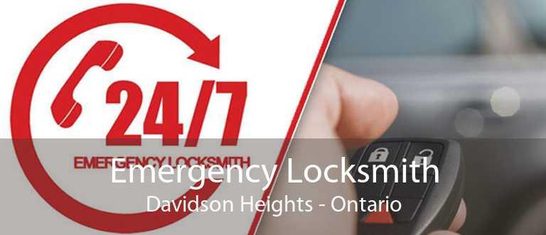 Emergency Locksmith Davidson Heights - Ontario