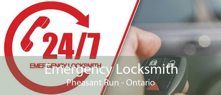 Emergency Locksmith Pheasant Run - Ontario