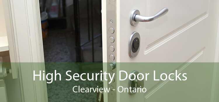 High Security Door Locks Clearview - Ontario