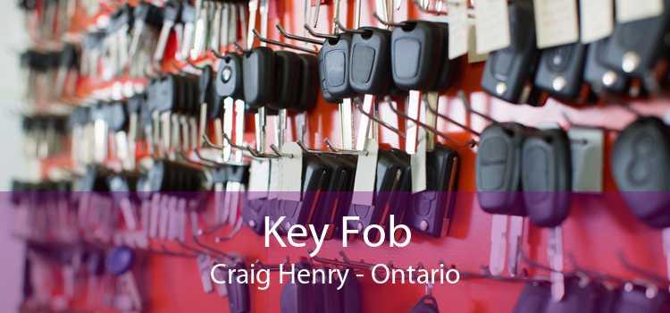 Key Fob Craig Henry - Ontario