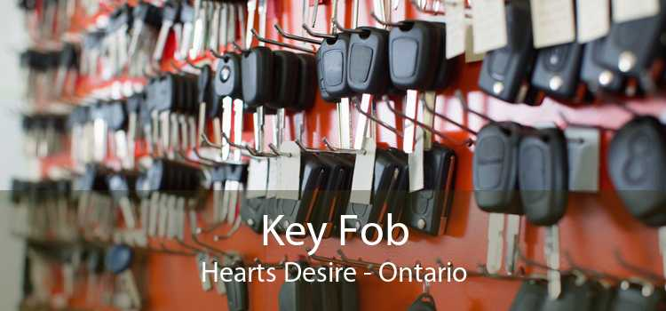 Key Fob Hearts Desire - Ontario