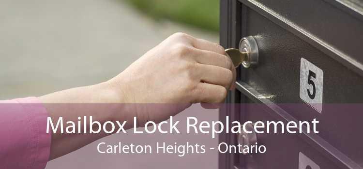 Mailbox Lock Replacement Carleton Heights - Ontario