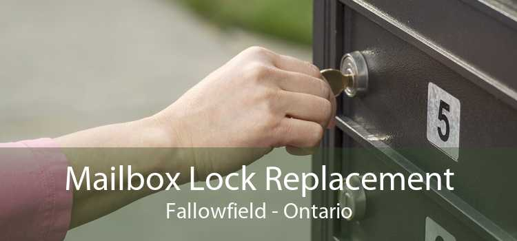 Mailbox Lock Replacement Fallowfield - Ontario