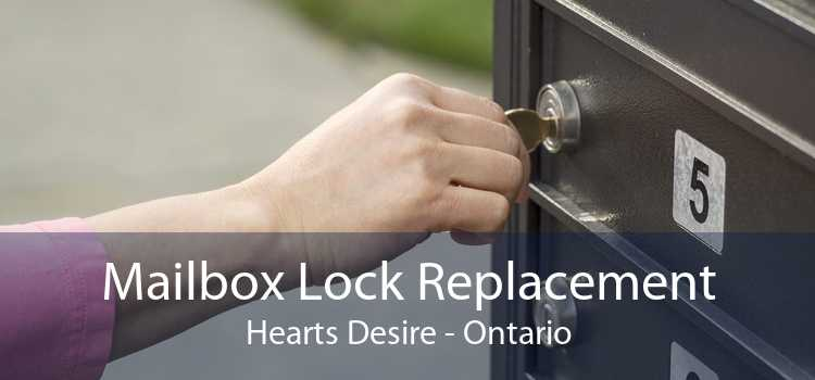 Mailbox Lock Replacement Hearts Desire - Ontario