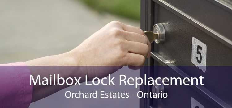 Mailbox Lock Replacement Orchard Estates - Ontario