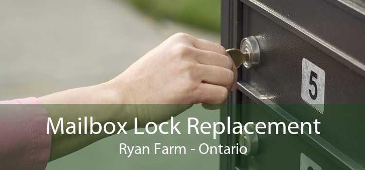 Mailbox Lock Replacement Ryan Farm - Ontario