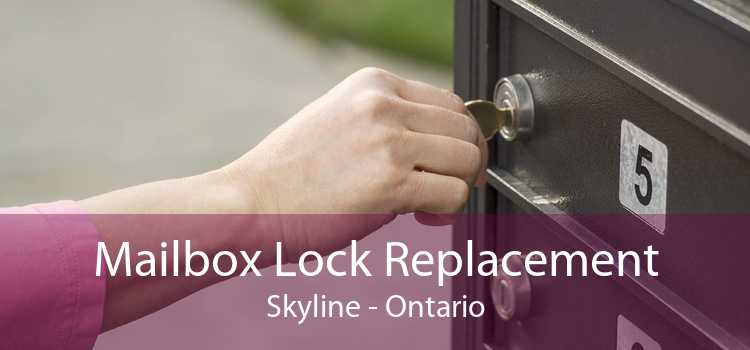 Mailbox Lock Replacement Skyline - Ontario