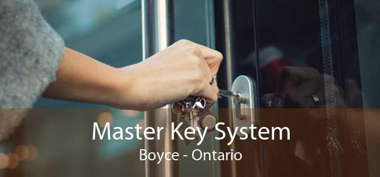 Master Key System Boyce - Ontario