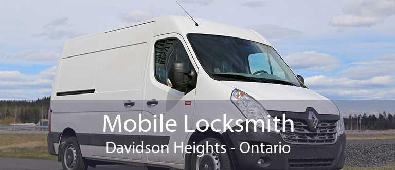 Mobile Locksmith Davidson Heights - Ontario