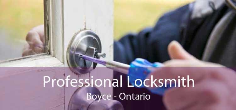 Professional Locksmith Boyce - Ontario