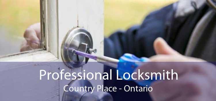 Professional Locksmith Country Place - Ontario
