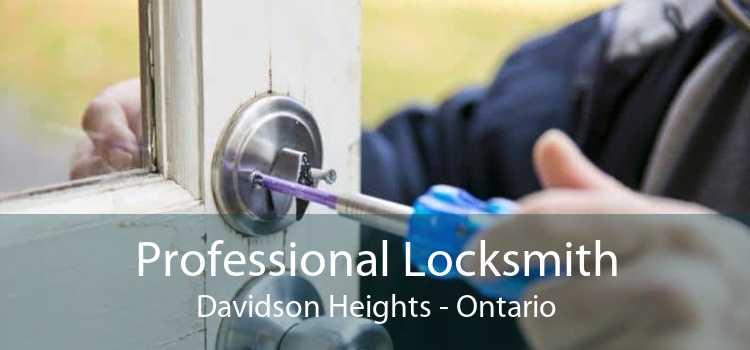 Professional Locksmith Davidson Heights - Ontario