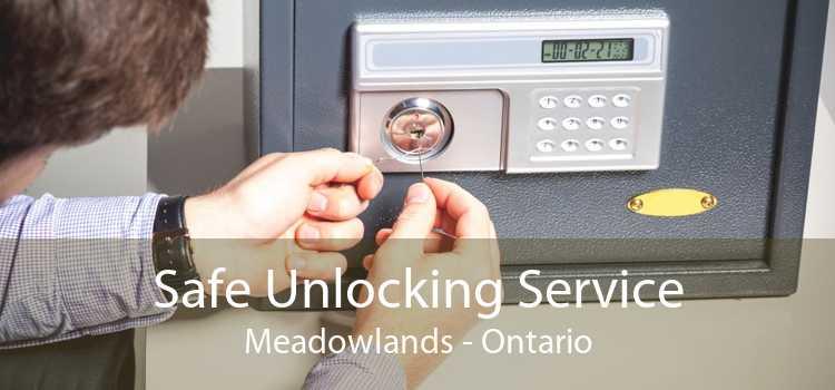 Safe Unlocking Service Meadowlands - Ontario